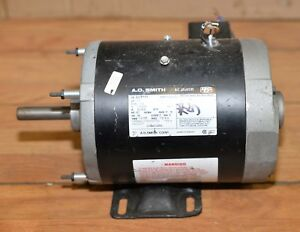 A O Smith Ac Motor 1 2 Hp 115 230 Single Phase Model 327p111 Drill Table Saw