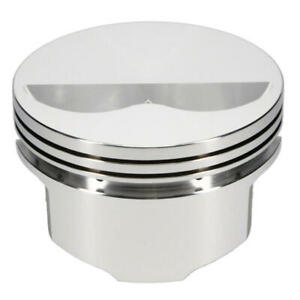 Srp Engine Piston Set 138097 4 155 Bore 5 0cc Flat Top 2v For Chevy Sbc
