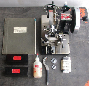 Rare Complete Vintage Lipshaw 50 ab Microtome Knife Plus Manual Extras Free Ship