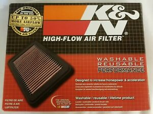 K n High Flow Performance Washable Reusable Replacement Air Filter 33 2399