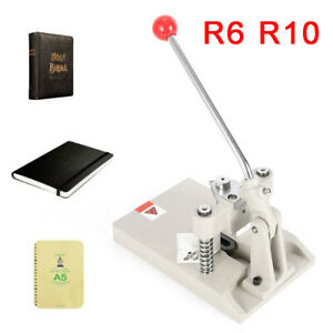 Tabletop Manual R3 r10 Office Paper Card Round Corner Cutter Cutting Machine
