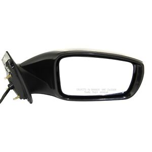 Mirror For 2011 2014 Hyundai Sonata Passenger Side With Signal Light Paintable
