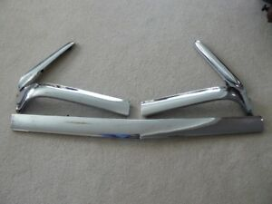 5 Pc 1958 Impala Hood Trim 58 Mouldings