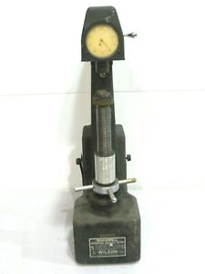 Mo 887 Rockwell Wilson 4ous Superficial Hardness Tester W Dial Indicator