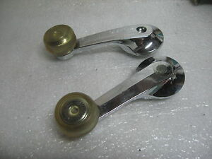 1970 S 1980 S Ford Window Crank Handles Mustang Pinto Granada Thunderbird New