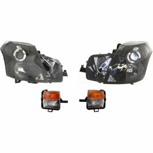 Auto Light Kit New Right and left Lh Rh For Cadillac Cts 2003 2007