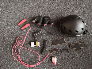 16 Very Hot 1050 - US Army Navy Seal CQB FAST Carbon Helmet & GPNVG18 Model