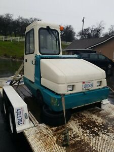 Nice Cab Tennant 6500 Floor Sweeper 300hrs Propane