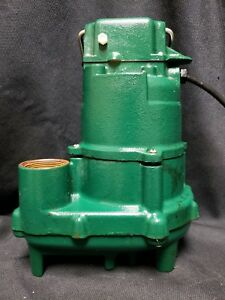 Zoeller 152 0002 4 10 Hp Cast Iron High Head Effluent Sump Pump W 50ft Hose