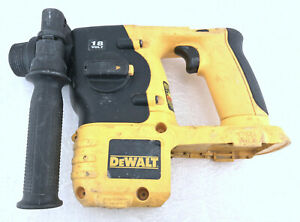 Dewalt Dc212 18v Sds Hammer Drill Type 1 With Side Handle tool Only