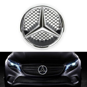 Led Illumination Emblem Front Grille Star Badge For 2008 2013 Mercedes Benz