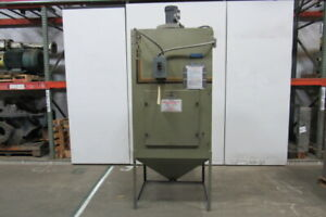 Empire Dcm 200 Pro finish 2hp Abrasive Dust Collector Bag House 480v 3 Phase