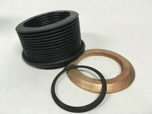 Ammco 4000 Brake Lathe Rubber Protective Spindle Boot Brass Ring Snap Ring New