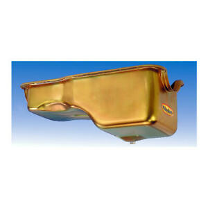 Milodon Engine Oil Pan 30745 Replacement 5qt Gold Iridited For Ford 429 460