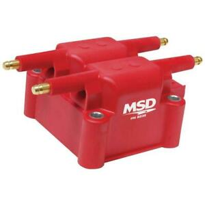 Msd Ignition Coil 8239 Red 36 000 Volts Coil Pack Hei Male