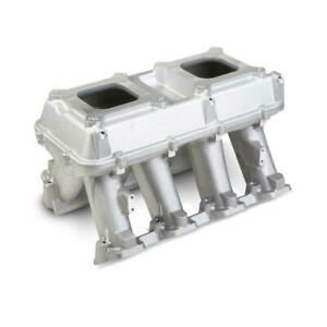 Holley Intake Manifold 300 113 Hi Tech Tunnel Ram Satin Aluminum For Ls3 L92