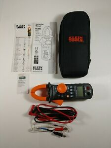 Klein Tools Cl200 Digital Clamp With Leads Multimeter