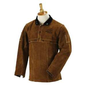 Black Stallion 214cs Cowhide Welding Leather Sleeve Bib Combo Small