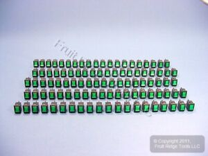 100 Green Pilot Light Illuminated Mini Rocker Panel Switches On off Micro Mr001