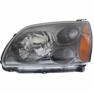Halogen Headlight For 2004 2009 Mitsubishi Galant Left W Bulb