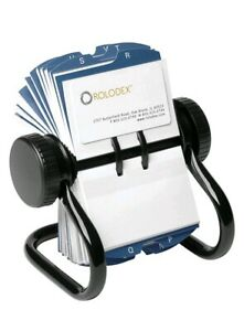 Rolodex Open Rotary Business Card File With 200 2 5 8 By 4 Inch Card