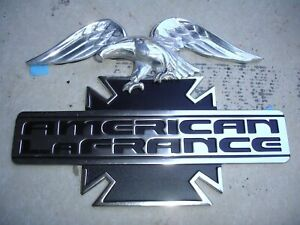 American Lafrance the Bird And The Bar Emblem New Old Stock