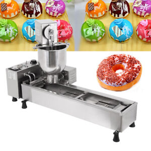 3kw Automatic Donut Machine 3kw Commercial Donut Maker 3 Set Free Mold 500pcs h