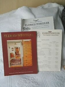 Eldred Wheeler Furniture 20th Anniversary Catalog Price List Used As Is 1998