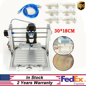 Cnc 3018 pro Router Kit Grbl Control 3 Axis Pcb Wood Carving Engraving Machine