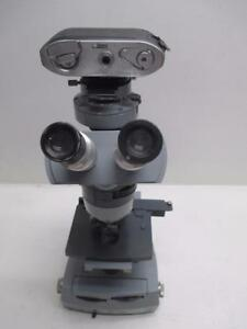 American Optical Ao Spencer Microscope With 4 Objectives