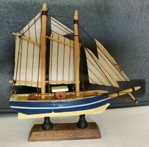 Handmaid Sailing Ship Model Desktop 5 5 Tall And 5 Long