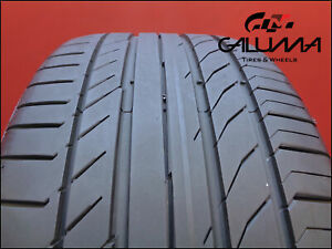 1 One Tire Excellent Continental 255 35 19 Contisportcontact 5 96y Runflat 49078