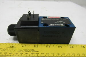 Rexroth 3we6a62 ew110n9k4 62 Hydraulic Directional Control Valve 120v