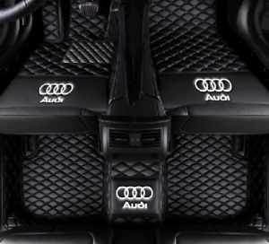 For Audi Q5 2013 2019 Car Mat Front And Rear Waterproof Pad Carpet Lo Go