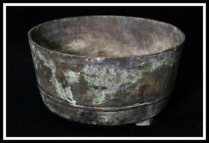 Bi42 Japanese Antique Bronze Incense Burner Censer Buddhist Altar Fitting