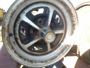 Mopar Or Ford Magnum 500 Road Wheels With Center Caps 5 X 4 5 Bolt Pattern
