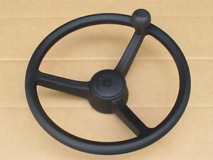 Steering Wheel W Spinner Knob For Jcb 1400b 1550b 1700b 214 215 216 217 2cx 2dx