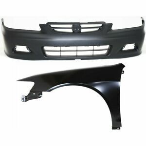 Auto Body Repair Kit New Front Coupe For Honda Accord 2001 2002
