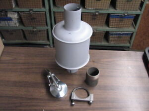 Wisconsin Engine Muffler Wd111as1 Style Fits V465d V461d Read Ad
