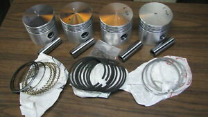 Wisconsin Engine Pistons Ring Set For V465d Read Ad