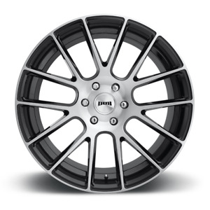 Dub Luxe S206 Wheel 22x9 5 Bolt Pattern 6x5 5 Black Brush Offset 30mm