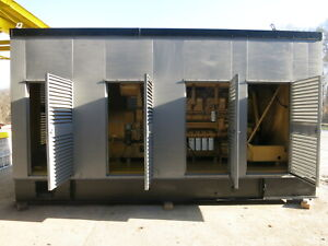 Caterpillar 2187kva 1750kw Cat 3516 Diesel Sr 4b Generator Set 598hr 1996 Genset