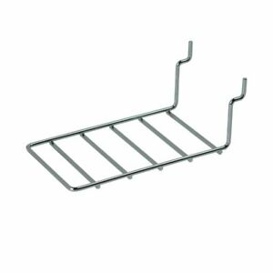Econoco Sw ed6 4 1 2 Chrome Earring Card Ladder Display For Slatwall Sold