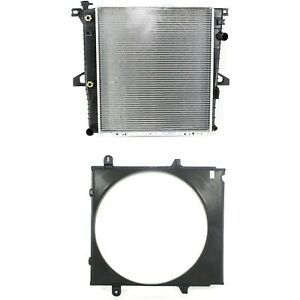 New Radiator Kit For Ford Explorer Mercury Mountaineer Sport 2001