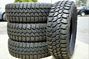 4 New Thunderer Trac Grip M T Lt33x12 50r17 Load D 8 Ply Mt Mud Tires