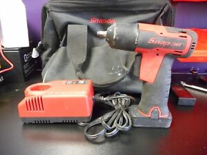 Snapon 14 4v Micro 1 4 Impact Wrench Ct725a With 1 Battery Charger