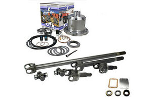 Yukon Front Dana 30 Chromoly Axles Zip Locker Hd Ujoints Jeep Xj Tj Yj 30 Spline