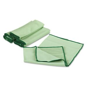 Wypall Cloths With Microban Microfiber 15 3 4 X 15 3 4 Green 24 carton