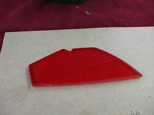 1939 Chevy Accy Low Wing Hood Ornament New Plastic Red L K