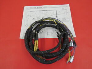 New 1939 Ford Deluxe Dash Wiring Harness 91a 14401 D